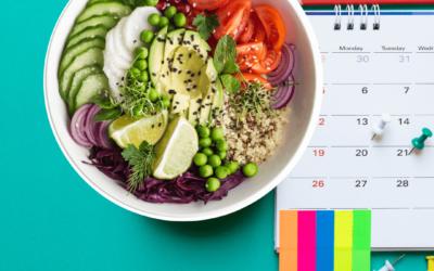 Veganer Diätplan für 30 Tage