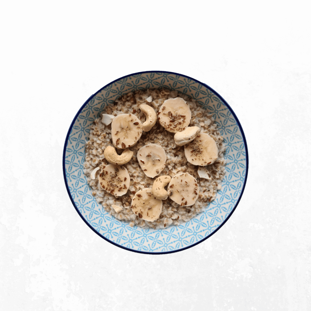 Porridge abnehmen